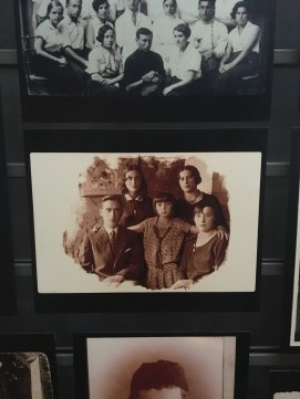 Photo of Jewish family at Holocaust Museum. Photo by Sarah Schroeder.