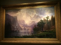 Among the Sierra Nevada, California by Albert Bierstadt. Photo credit: Jack Feldman