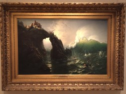 Seal Rocks, San Francisco by Albert Bierstadt. Photo credit: Jack Feldman