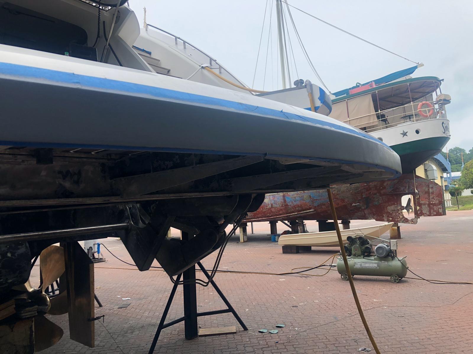 Super Yacht Antifouling Thailand