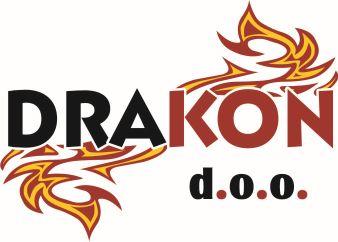Drakon vatrogasna i zaštitna oprema.  Logo