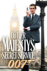 James Bond: On Her Majesty's Secret Service (1969)