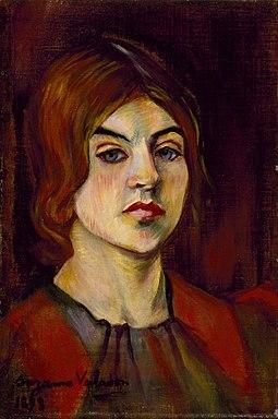 "Suzanne Valadon ""Self-Portrait"""