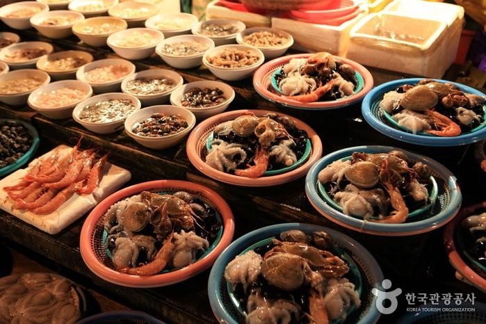 Seafood at Jagalchi