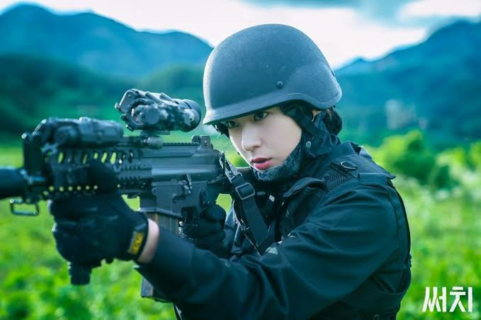 Krystal Jung sebagai prajurit