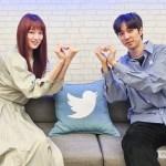 Lee Sung Kyung & Sutradara Lee Chung Hyun Saat Heart Attack Twitter Live Show
