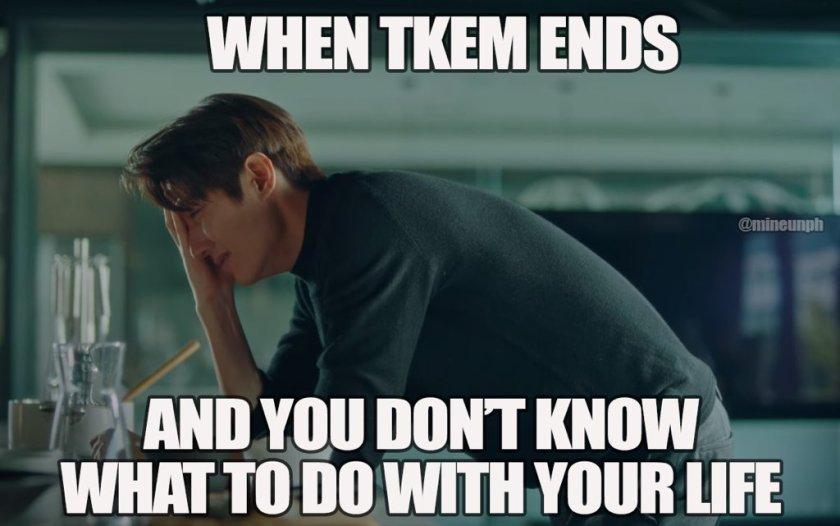 when TKEM ends