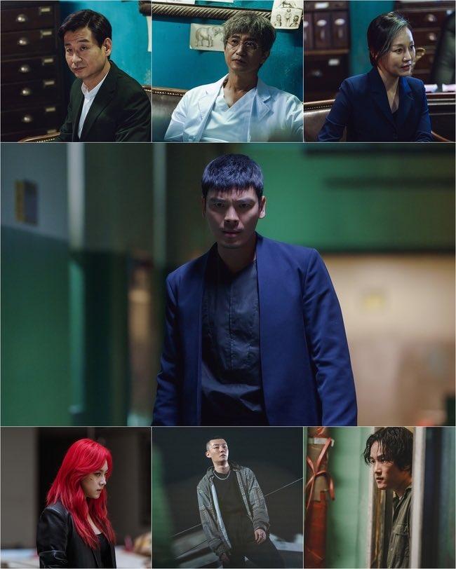 Karakter dalam drama LUCA  Sumber gambar: Soompi