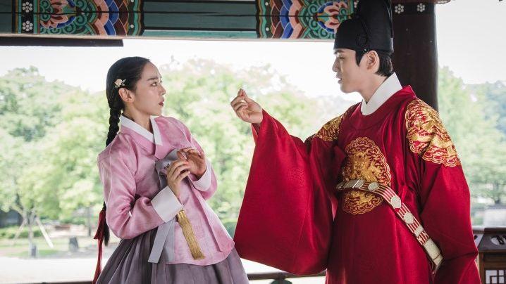 shin hye sun dan kim jung hyun dalam mr. queen
