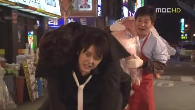 Go Eun Chan yang tomboy (Sumber gambar: dramabeans)