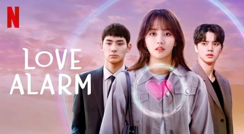 Poster Drama Love Alarm - Netflix