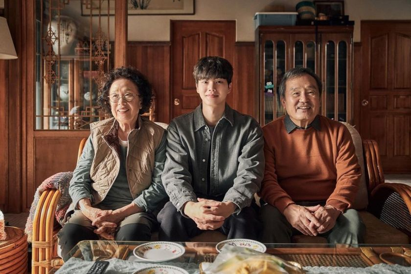 Chae Rok dan Kakek Shim dan istrinya