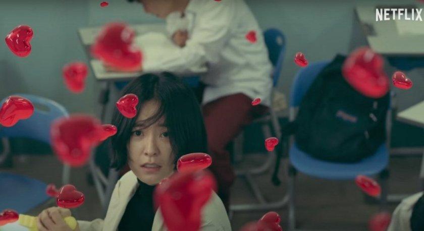 Ahn Eun Young memusnahkan Jeli (Sumber gambar: Netflix)