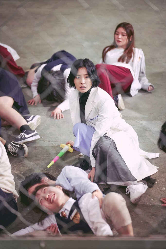 Perawat Ahn Eun Young (Sumber gambar: Netflix)