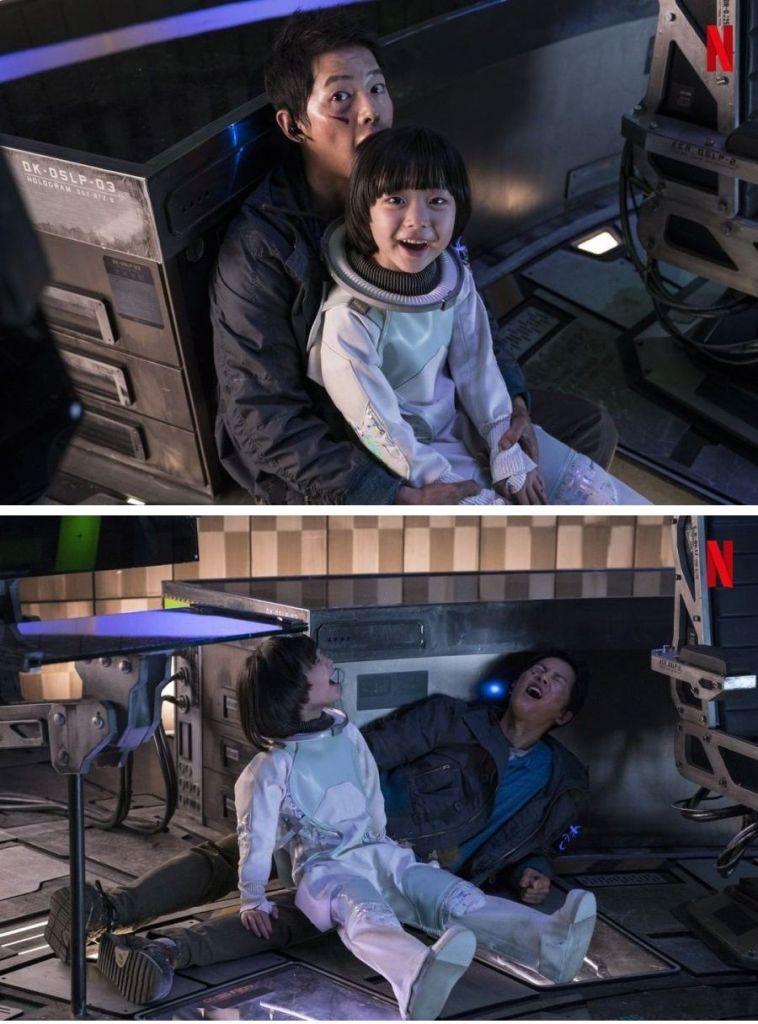 Cast Film Space Sweepers : Song Joong Ki, Kim Tae-ri, Jin Seon Kyu, dan Yoo Hae Jin