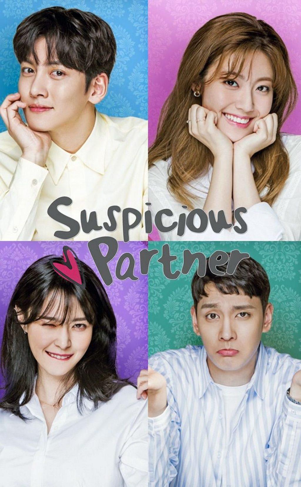 Poster Pemeran K Drama Suspicious Partner