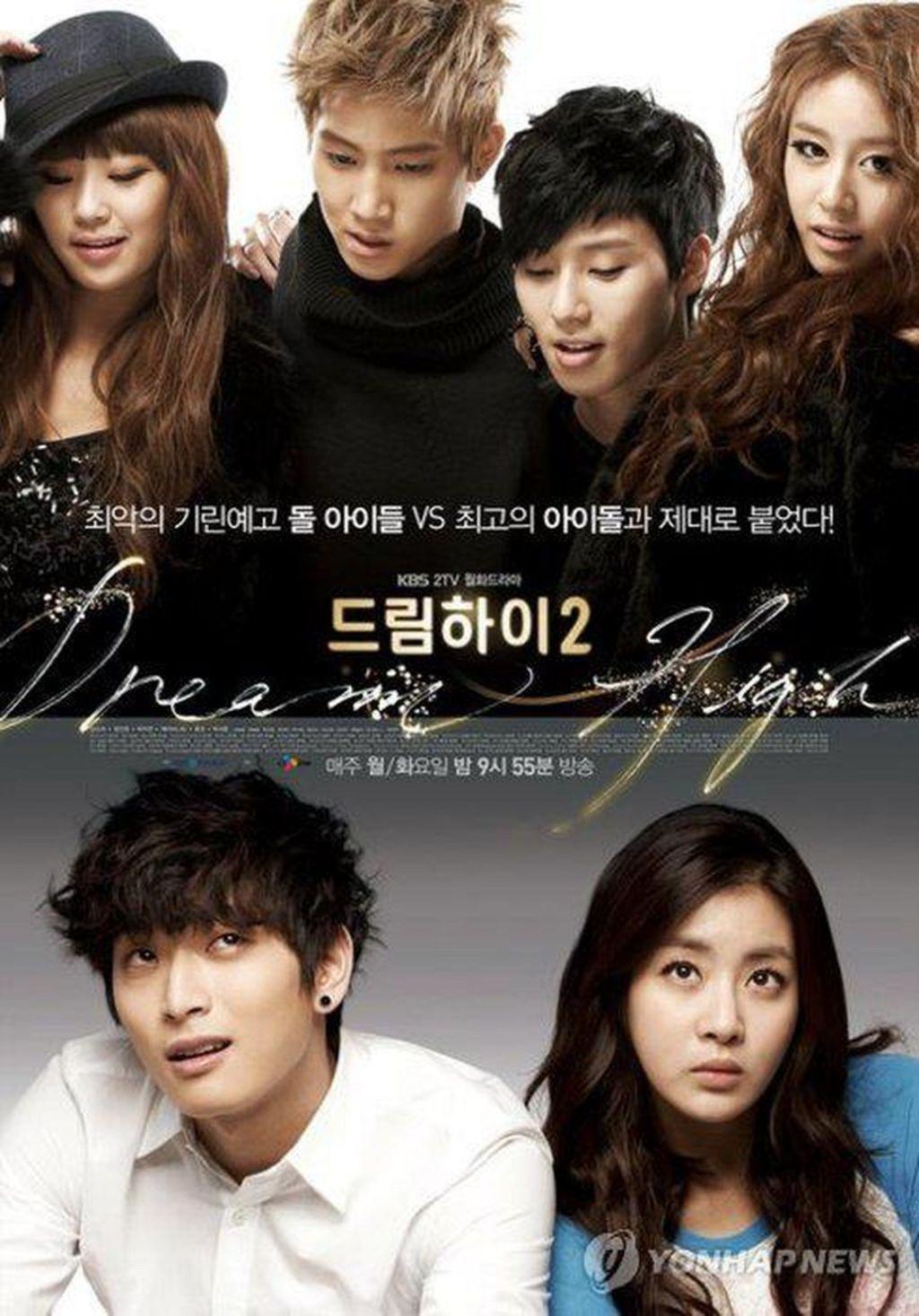 Sinopsis Dan Profil Lengkap Pemeran K-Drama Musical Popular Dream High 2 (2012)