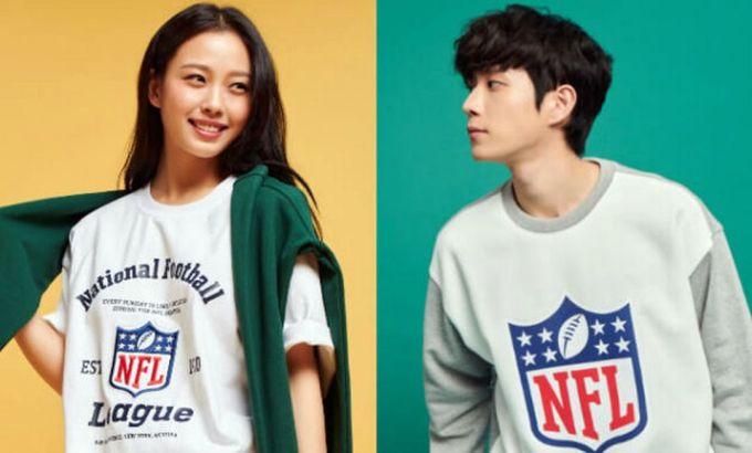 Aktor Korea Kim Youngdae dan Aktris Go Minsi untuk NFL