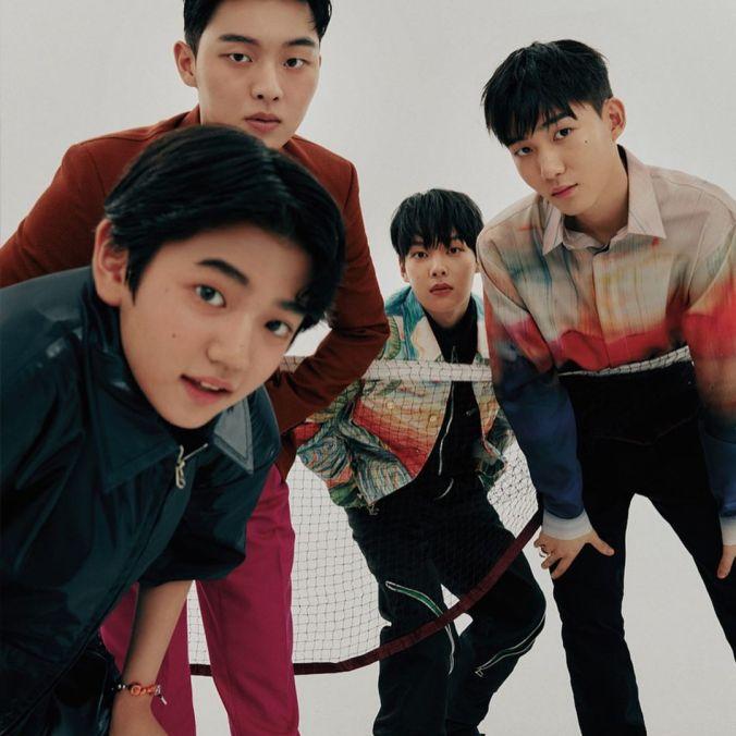 Karakter Utama Drama Racket Boys untuk Majalah Cosmopolitan Edisi September 2021