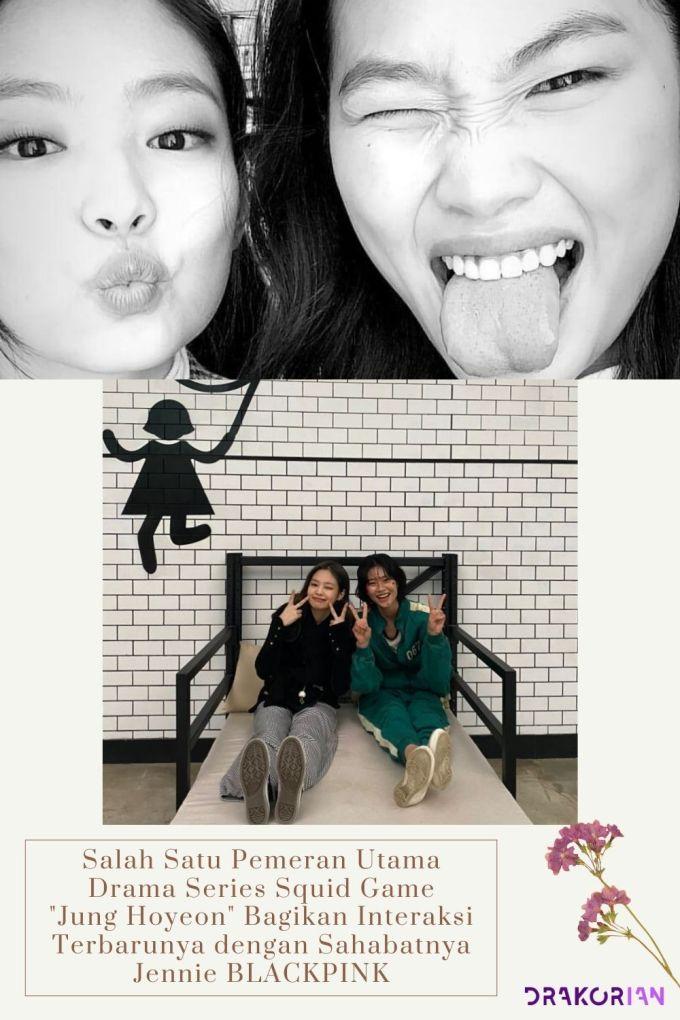 Jung Hoyeon Bagikan Interaksi Terbarunya dengan Sahabatnya Jennie BLACKPINK