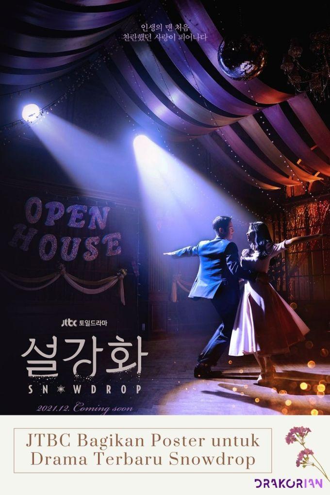 JTBC Bagikan Poster untuk Drama Terbaru Snowdrop