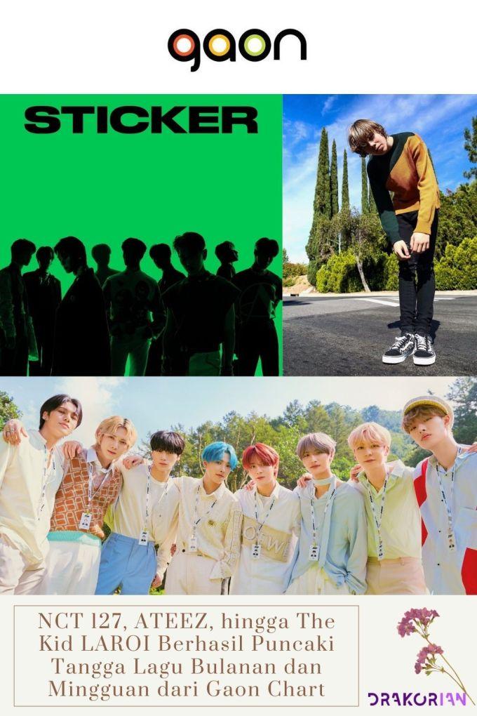NCT 127, ATEEZ, hingga The Kid LAROI Berhasil Puncaki Tangga Lagu Bulanan dan Mingguan dari Gaon Chart