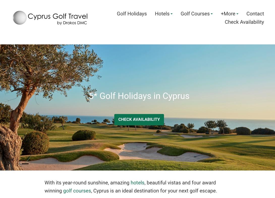 CYPRUS GOLF TRAVEL