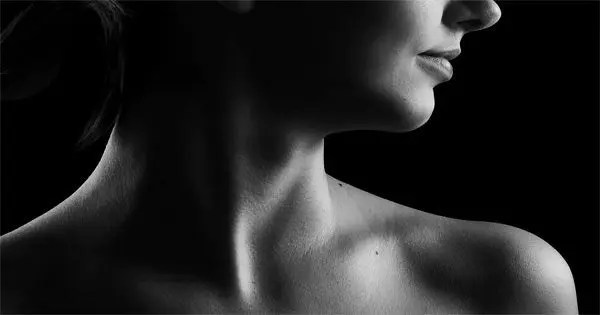 blog picture of woman's neck