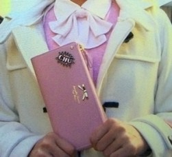 お財布持ってましたね