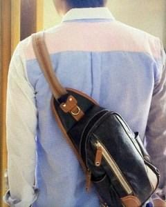 バッグ着用