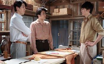 『まんぷく』第108回 婿3人
