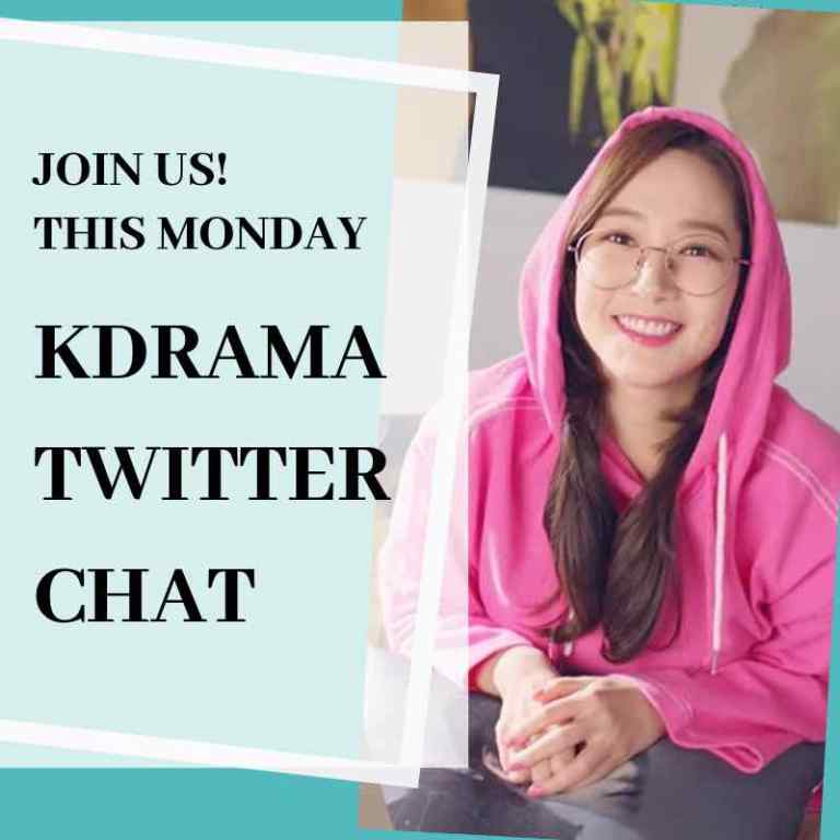 KDrama Twitter Chat is Monday!