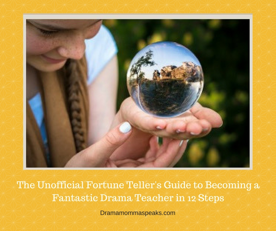 girl holding crystal ball