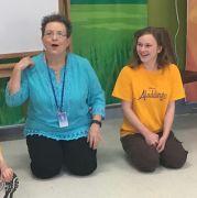 Deborah Baldwin teaching