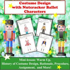 Costume Design with Nutcracker Characters