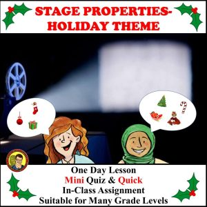Stage Properties Lesson
