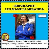 Lin Manuel Miranda cover