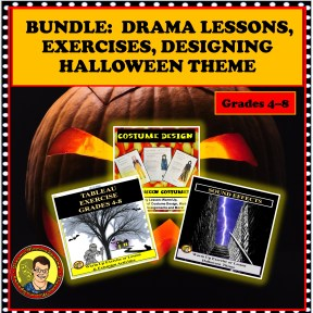 BUNDLE HALLOWEEN DRAMA LESSONS
