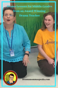 Drama Lessons for Middle Grades from an Award Winning Drama Teacher