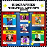BUNDLE FAMOUS THEATER ARTISTS COVER
