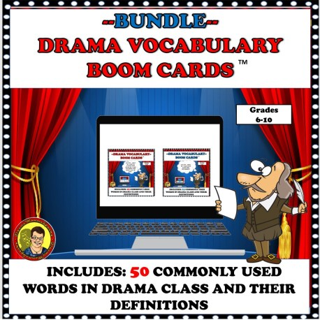 BUNDLE DRAMA VOCAB. COVER