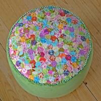 Pretty Pastel Pouf
