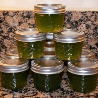 I made Jalapeno Pepper Jelly