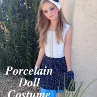 Halloween costume (Porcelain Doll)