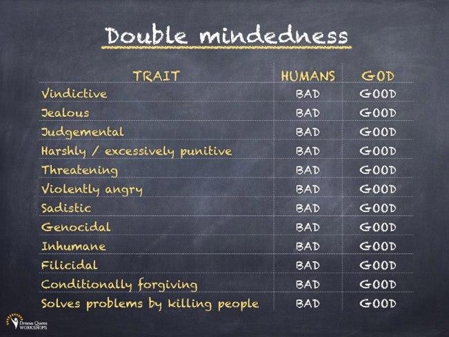 Double mindedness
