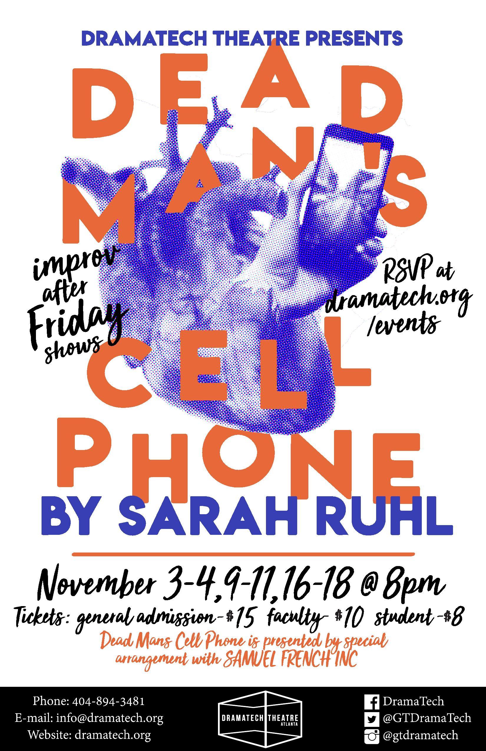 Dead Mans Cell Phone Dramatech Theatre