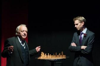 Lord Caversham und Lord Goring, Foto Alexander Zipes