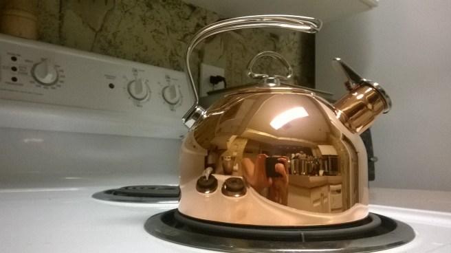 So shiny. So copper.