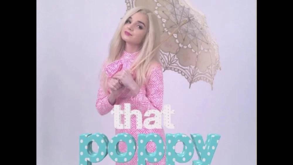 「That Poppy ポピィ―ついに2018年1月13日に来日♡」のアイキャッチ画像