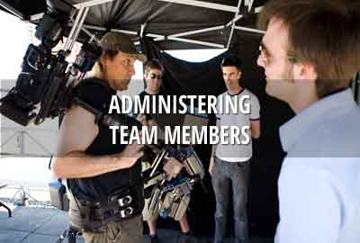 Administering team members